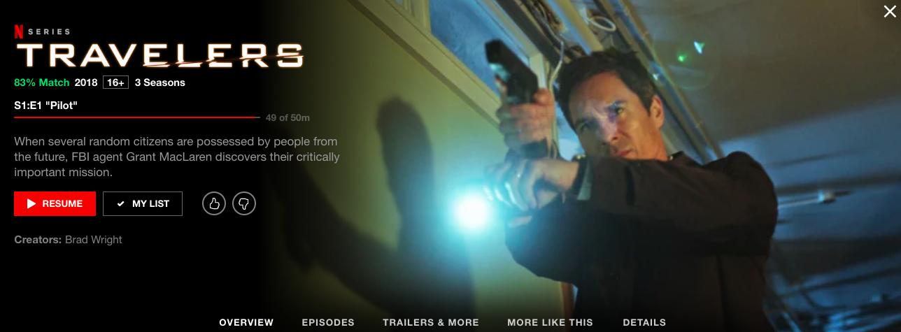 Netflix screenshot Jens Travellers