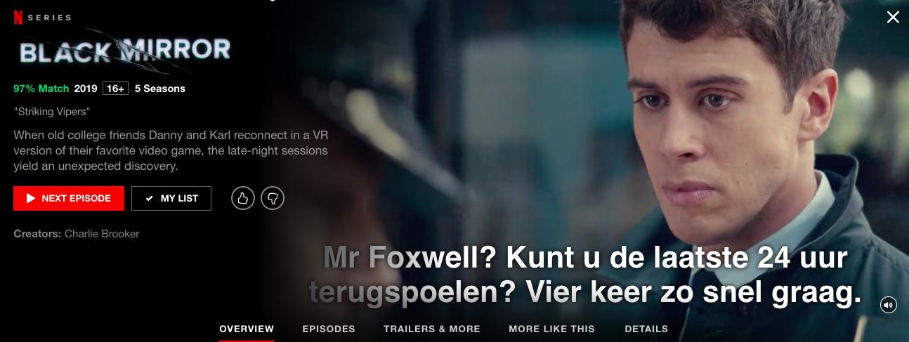 Netflix screenshot Jens Black Mirror