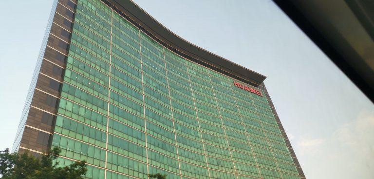 Hoofdkwartier Huawei in Shenzhen
